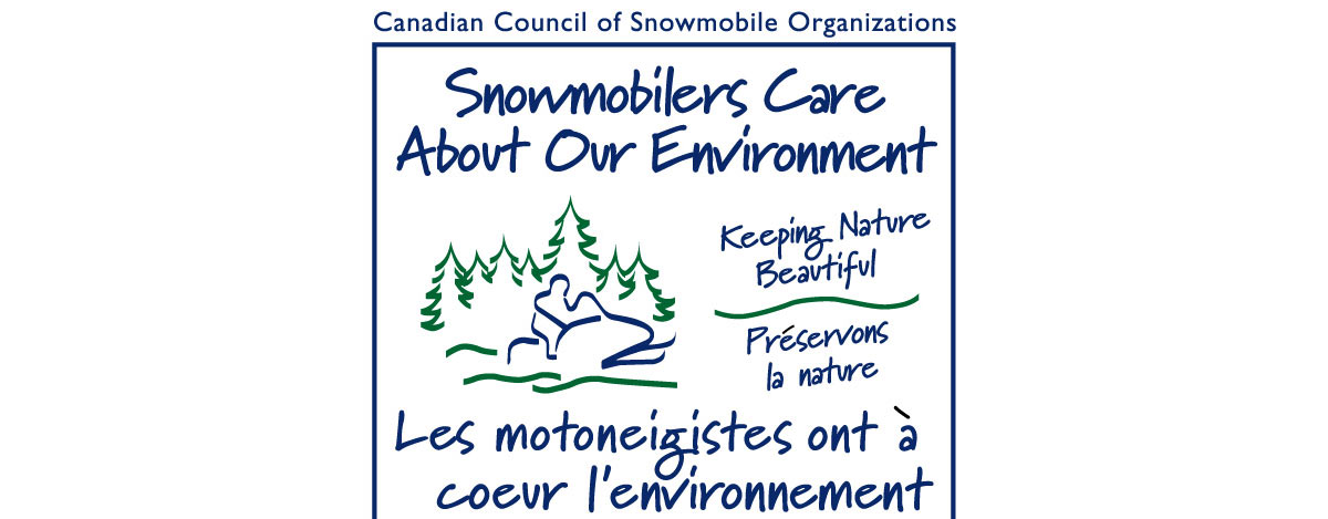 February is National Snowmobiling Environment Month