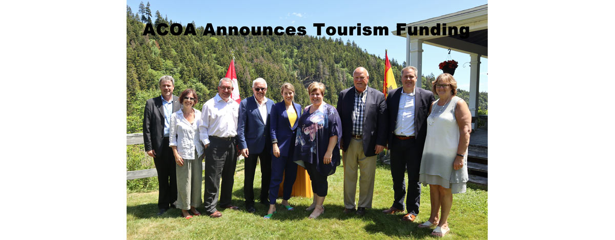 ACOA Announces Tourism Funding
