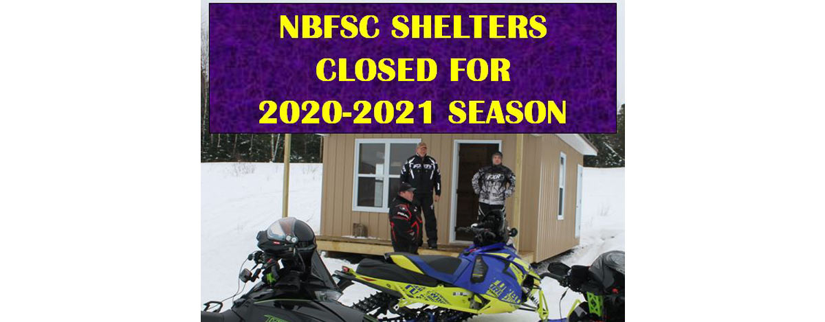NBFSC Shelters Closed for 2020-2021 Season